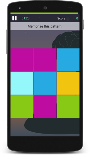 Changing Colors Brain Game