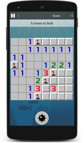Minesweeper Brain Game