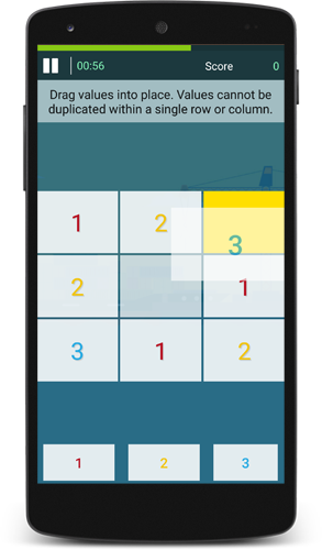 Sudoku Rush Brain Game