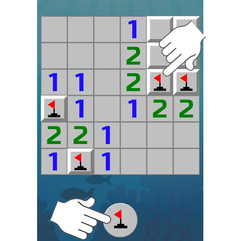 Step 3: Minesweeper Instruction