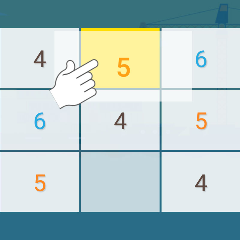 Step 2:Sudoku Rush Instruction